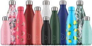 Botella de agua kawaii