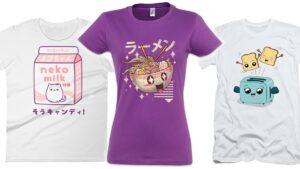 comprar camisetas kawaii