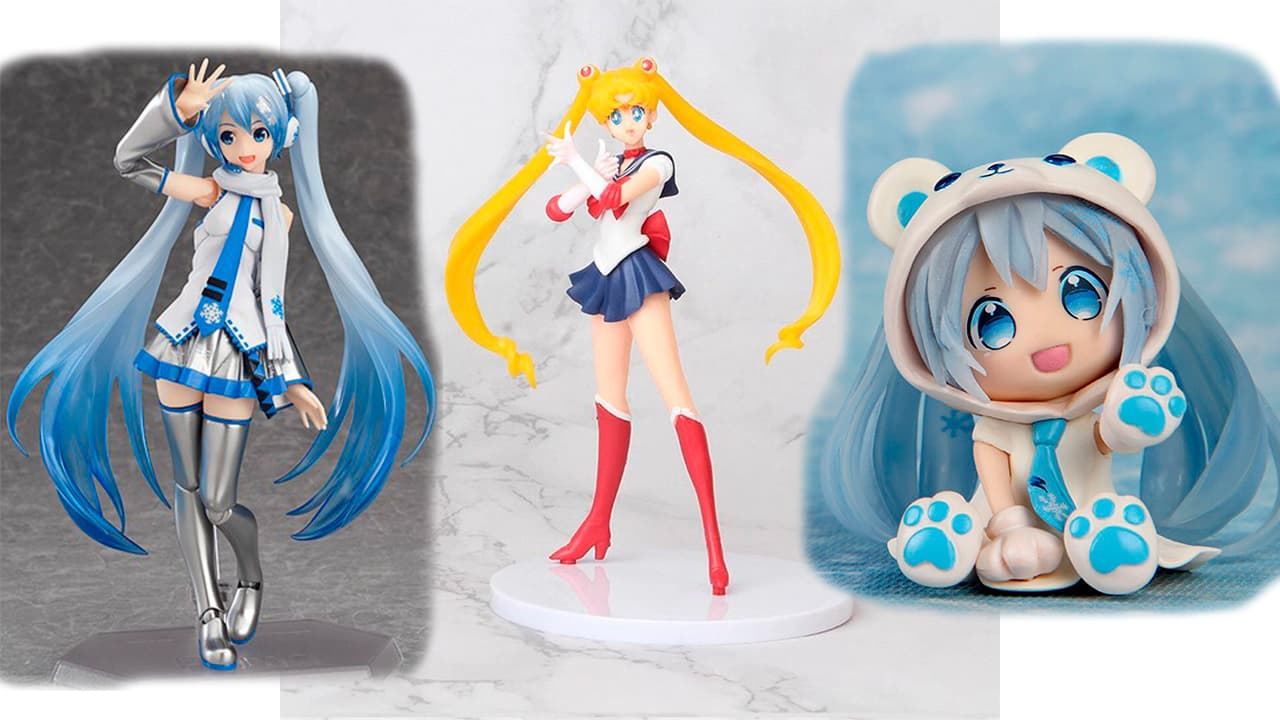 figuras anime kawaii exclusivas
