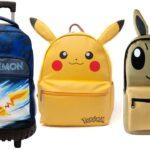 Mochilas pokemon de pikachu eevee y con ruedas en oferta