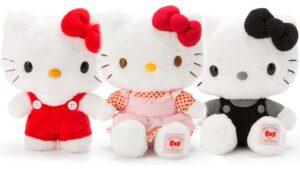 Peluches de hello kitty exclusivos Sanrio