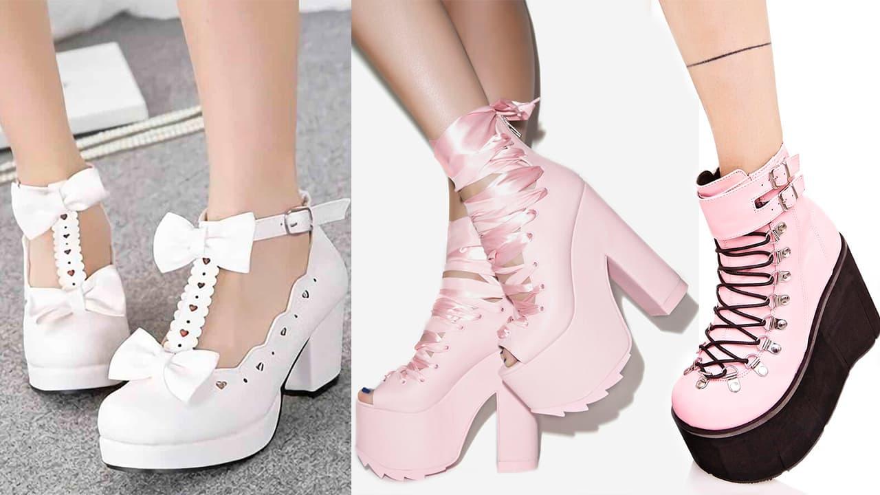 Zapatos y botas kawaii