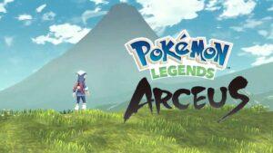 nuevo juego pokemon legends arceus