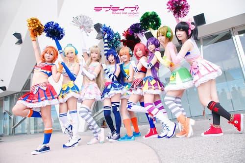 idea cosplay kawaii de grupo
